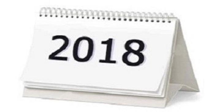 2018 bookings now open